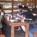 災害時の食を学ぶ防災教室、幼児も参加